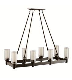 Kichler Lighting Circolo 8 Light Chandelier in Olde Bronze 2943OZ #kichler #lightingnewyork #undercabinetlighting #outdoorlighting #lighting