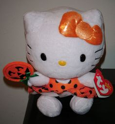 Ty Hello Kitty Halloween Beanie Baby New Release for 2013