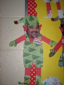 """Elf"" the staff!! Hahaha what a funny idea!"