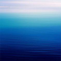 Shades of Blue als Premium Poster von Steffi Louis | JUNIQE
