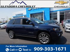 2014 *Jeep*  *Compass* *Limited*  72k miles Call for Price 72775 miles 909-303-1671 Transmission: Automatic  #Jeep #Compass #used #cars #GlendoraChevrolet #Glendora #CA #tapcars
