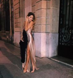 Sexy slim shoulder straps elastic sartorial dress prom dresses · prom dress · Online Store Powered by Storenvy Evening Dresses, Prom Dresses, Formal Dresses, Dress Prom, Long Party Dresses, Prom Ballgown, Formal Wear, Pretty Dresses, Beautiful Dresses
