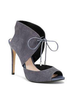 a30818eb2b0 Tie-front Sandal VS Collection    Victoria s Secret Tie Heels