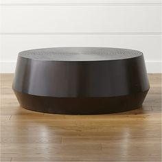 Udan Round Coffee Table | Crate and Barrel