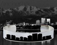 Anchorage Skyline   Cityscape Jewelry   Skyline Jewelry   Korena Loves   KLSM