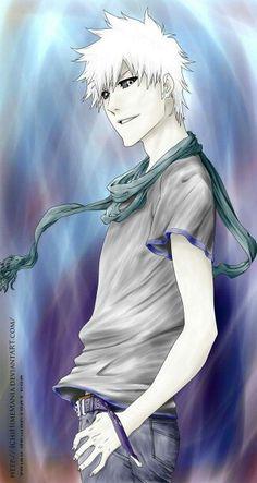 Anime/manga: Bleach Character: Hollow Ichigo, this dude is creepy yet cool. Rukia Bleach, Bleach Fanart, Bleach Manga, Bleach Characters, Anime Characters, Anime Manga, Anime Art, Bleach Pictures, Naruto