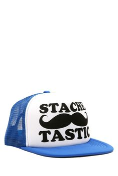 36db08c0ad0 STACHETASTIC SNAPBACK TRUCKER CAP Do Want