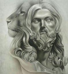 Jesus. @Makaivio_desenhos