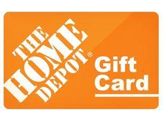 The Home Depot Gift Card | badcarcredit.com