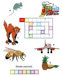 Romanian Language, Fun Worksheets For Kids, Bowser, Letters, Education, School, Children, Diagram, 1st Grades
