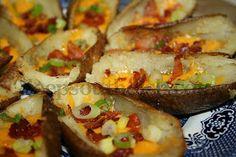 Deep South Dish: Loaded Potato Skins