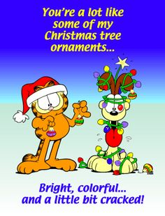 garfield christmas funny