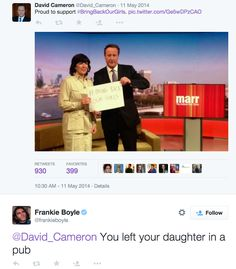 28 Times Frankie Boyle Made Us Laugh Despite Ourselves Frankie Boyle, Bring Back Our Girls, Scotland Funny, Funny Comedians, British Humor, David Cameron, Cheer Me Up, Some Words, Funny Pictures