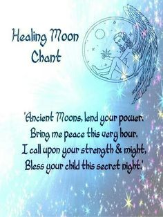 Healing moon chant