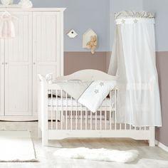Kinderbed Karlotta - massief grenenhout/white wash - White Washed