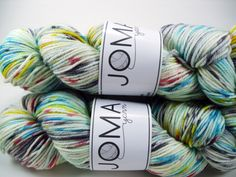 Squish-a-Rino - Schoolhouse Paintbox (worsted weight) Yarns, Homeschool, My Favorite Things, Homeschooling