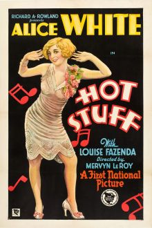 Movie Posters:Comedy, Hot Stuff (First National, 1929). Alice White