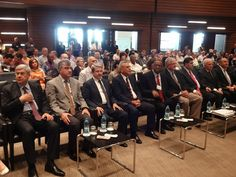 Turkish dignitaries sitting with Baptist leaders at the 2014 Baptist World Alliance gathering in Izmir, Turkey. Photo by Brian Kaylor.