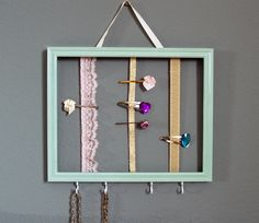 DIY Girls Accessories Holder