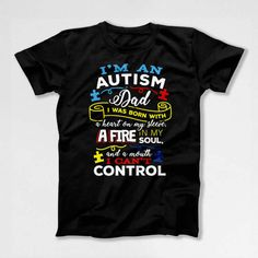 Autism Awareness T-Shirt  Welcome to Festiviteees - Holiday and Celebration Shirts for Everyone! ▄▄▄▄▄▄▄▄▄▄▄▄▄▄▄▄▄▄▄▄▄▄▄▄▄▄▄▄▄▄▄▄▄▄▄▄▄▄▄▄▄▄▄▄▄▄▄▄▄▄▄  Our shirts are digitally printed with the latest and greatest in direct to garment printing technology. Digital printing delivers a smooth and soft finish that will not crack or fade. The shirts are handmade to order using only the finest quality, longest-lasting, environmentally friendly inks. We DO NOT use heat transfers, our designs are made…