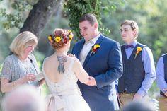 Outdoor Ceremony Bride and Groom    Centerville-Estate-Wedding-Photographer-Chico-California-TréCreative
