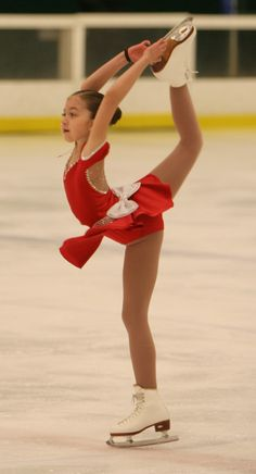 Annie Figure Skating Dress- Now we just need to find someone who can replicate this dress for less than the $300 asking price!!!