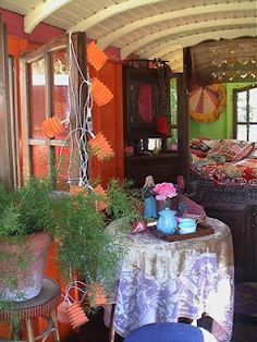 Gypsy caravan. small home beauty