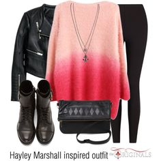 """""""Hayley Marshall inspired outfit/The Originals"""" by tvdsarahmichele on Polyvore"""