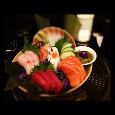 What a #gorgeous pic of #Sashimi #Selection! Thanks Alpha Lights Ltd for posting it @instagram! (^_−)☆