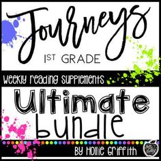 1st Grade Journeys S