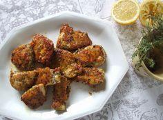Escalopes de poulet panées au parmesan et thym