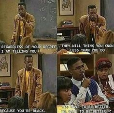 A Different World is a staple show in the black community. Black Power, A Different World, Black History Facts, Real Talk Quotes, Fact Quotes, Life Quotes, Black Pride, My Black Is Beautiful, African American History