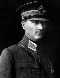 Mustafa Kemal Atatürk (1881 – 10 November 1938) was an army officer, revolutionary statesman, and founder of the Republic of Turkey as well as its first President. He fought the Gallipoli Campaign against the allied west in WWI & won. He later fought the War of Independence against Europe.