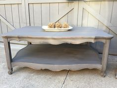 Coffee Table, Upcycled, Large and Super Cute