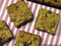 Farmgirl Fare: Recipe: 100% Whole Grain Oatmeal Cinnamon Raisin Cookie Bars