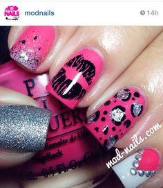 Cute nail designs. Instagram nails. Nail art.