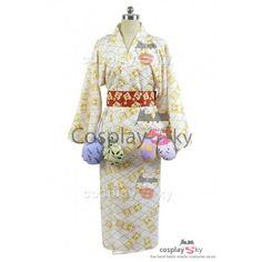 Osomatsu-kun Touximatsu Yukata Kimono Cosplay Costume_7