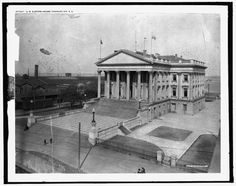 US-Custom-House-government-building-facilities-Charleston-South-Carolina-SC-1900