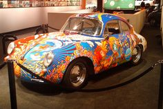 Awesome hippie car | Flickr - Photo Sharing Janis Joplin's car