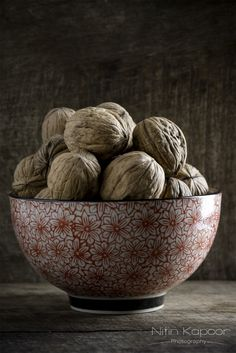 A Bowl of Walnuts by Nitin Kapoor Photography