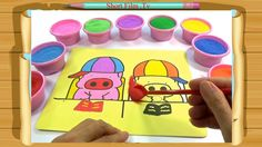 [Short Film .Tv]  Film for Children - Tranh Cát Con Heo Đất - Colors for...