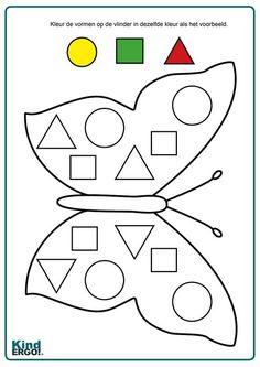 Kindergarten Learning, Preschool Learning Activities, Preschool Activities, Kids Learning, Learning Shapes, Numbers Preschool, Kindergarten Math Worksheets, Math For Kids, Kids Education