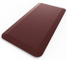 """Royal Anti-Fatigue Comfort Mat - Multi Surface All-Purpose Luxurious Comfort - For Kitchen Bathroom or Workstations - Beautiful Burgundy Color - 20 x 39"""""""