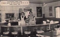 Batchelor's Truck Stop Diner - Terre Haute, Indiana.