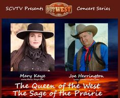 SCVTV Presents The OutWest Concert featuring Mary Kaye and Joe Herrington Country Music, Equestrian, Mary, Presents, Concert, Horseback Riding, Gifts, Concerts, Country