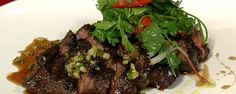 Michael Symon makes this steak at his famous restaurant Lola, and now you can make it at home. Try it tonight.