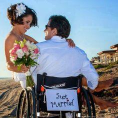 Cadeirantes em Foco: Casados
