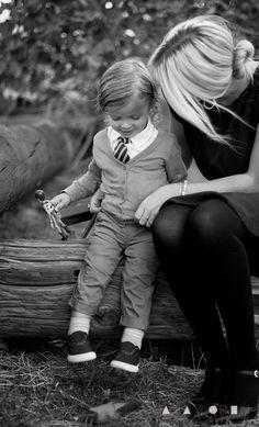Hanes' outfit: Top - Gap | Cardigan - Mini Miochi | Pants - H&M | Shoes - Target | Tie - Children's Place