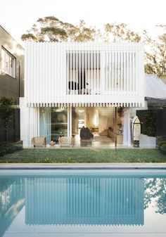 Workers House by Clayton Orszaczky Architects - Sydney Design Gallery - The Local Project Architecture Design, Modern Architecture House, Brisbane Architecture, Chinese Architecture, Futuristic Architecture, Sustainable Architecture, Residential Architecture, Amazing Architecture, Exterior Design