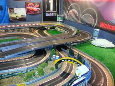 My old slot car track
